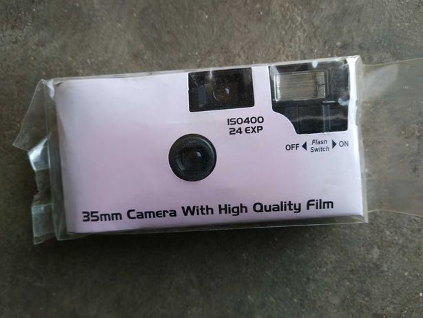 Máquina fotográfica analogica