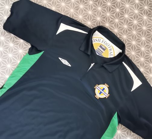 Koszulka piłkarska Irlandia Północna Umbro rozmiar M/L piłka nożna