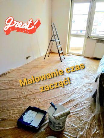 Malarz- usługi malarskie,malowanie mieszkań,układanie paneli,gładzie