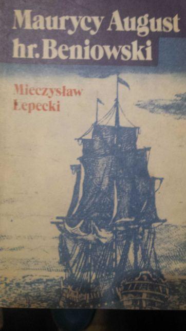 Książka Maurycy August hr. Beniowski aut. Mieczysław Łepecki