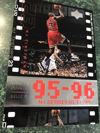 Karta kolekcjonerska Michael Jordan Upper Deck