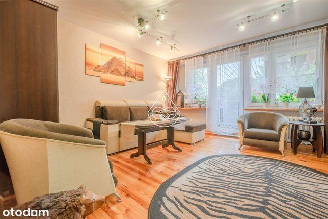 Zadbane 4 pokoje na parterze z ogródkiem 70 m2 !