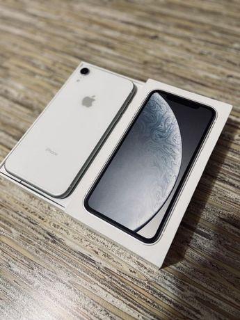 Телефон iPhone XR white 64gb