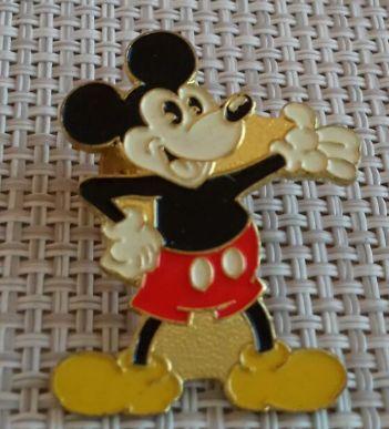 детский значок брошка микки маус британия металл Mickey Mouse