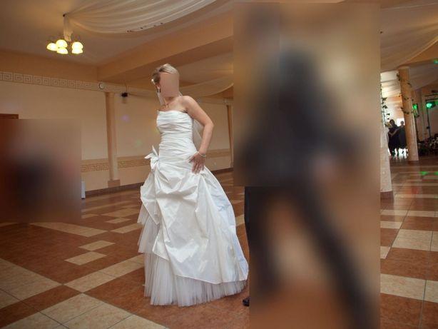 Suknia ślubna Lublin - sukienka biała mleczna ivory