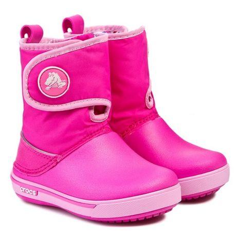 Детские сапоги крокс Crocs Kids' Crocband II.5 Gust Boot С12, J1