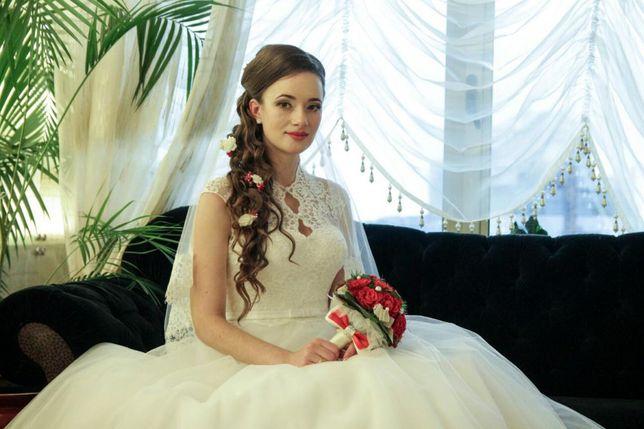 Продам весільне плаття (+фата+круги в подарунок)