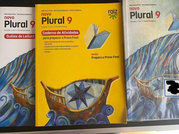 Manual + Caderno de atividades + Guiões de leitura Português 9 ANO