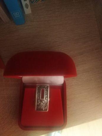 Srebrny duży pierścionek