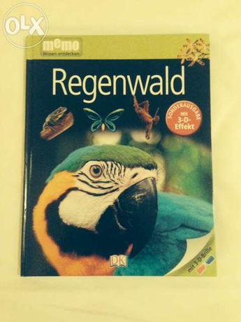 Livro sobre animais em alemão