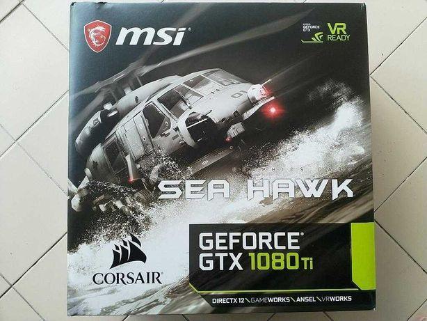 Msi GTX 1080Ti Sea Hawk X (Refrigerada a Agua de fabrica)