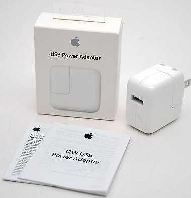 Зарядное устройство Apple 12W 2A USB Power Adapter for iPad Iphone