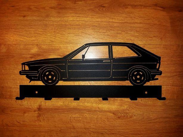 Wieszak ścienny VW Scirocco mk1, stalowy, 50cm, solidny