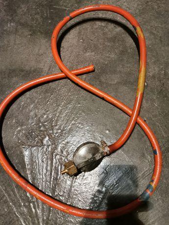 Reduktor do butli gazowej z wężem