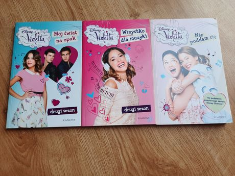 Książki Wioletta