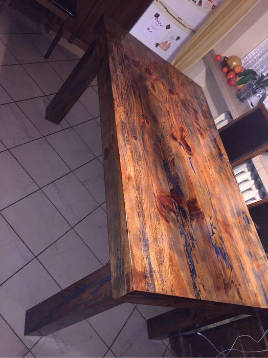 Stół ze starych belek Chodel - image 1