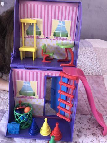 Домик  2-этажный  для кукол