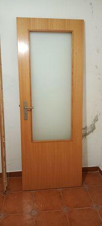 Conjunto de portas com áro
