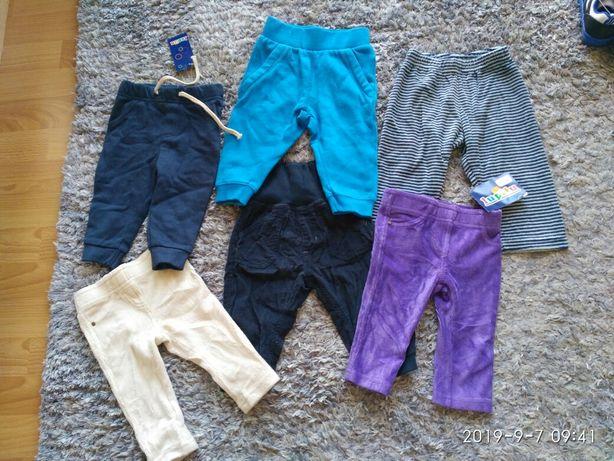 Nowe spodnie 62 68