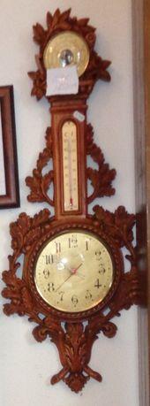 Relógio com barómetro