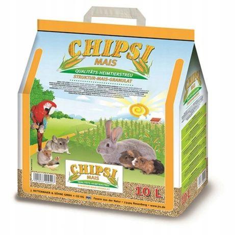 Podłoże kukurydziane Chipsi Mais dla gryzoni i ptaków 10L