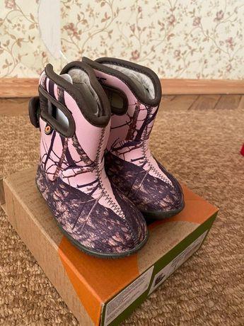 Зимние ботинки Bogs для девочки, 21 рр