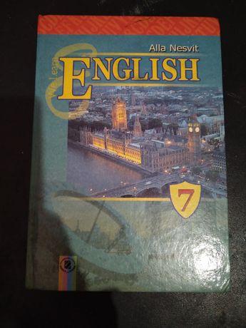Учебник английский язык 7 класс Алла Несвит підручник Англійська мова