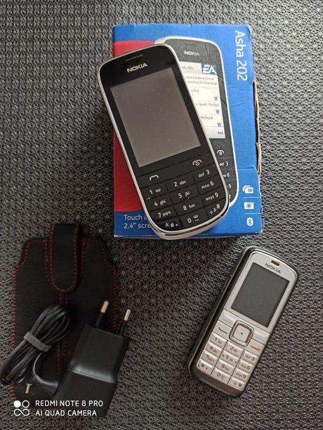 Nokia Asha 202 (kolor biały) z ładowarką i etui