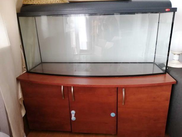 Akwarium 200 litrów z szafką