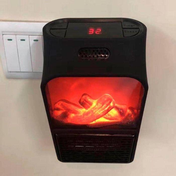 ТОП! Портативный обогреватель c LCD дисплеем Flame Heater Киев - изображение 1