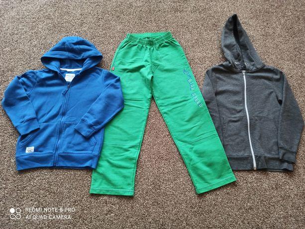 Bluzy chłopięce   r. 128 i spodnie r. 140