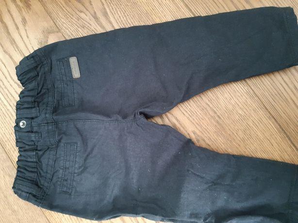Czarne spodnie NewBie
