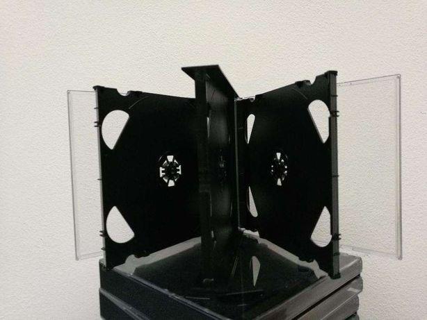 Caixas/Arquivo para 6 CDs cada