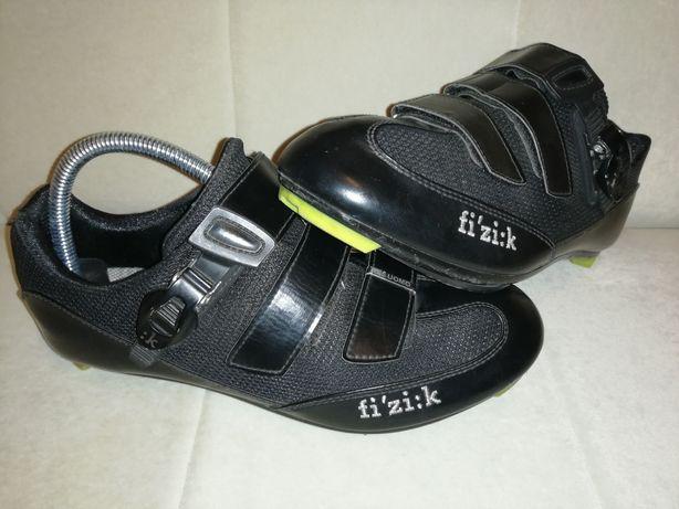 FIZIK buty szosowe nie mtb 42 szosa rower kolarzówka czarne bez bloków