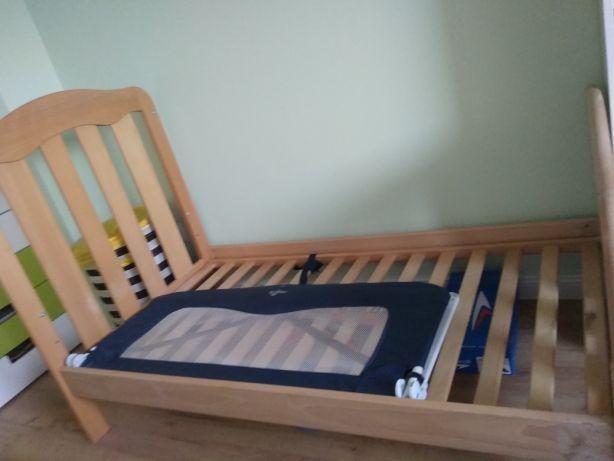 Łóżeczko/ łóżko dla niemowlaka/dzieciece, drewniane