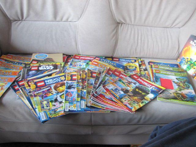 Lego ninjago , chima, nexo knights czasopisma książeczki zestaw 90 szt Szczecin - image 1