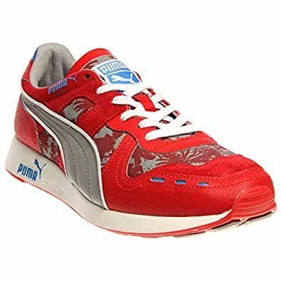 Мужские красные кроссовки Puma RS 100 Tropicalia (США) 41(26,5 см)