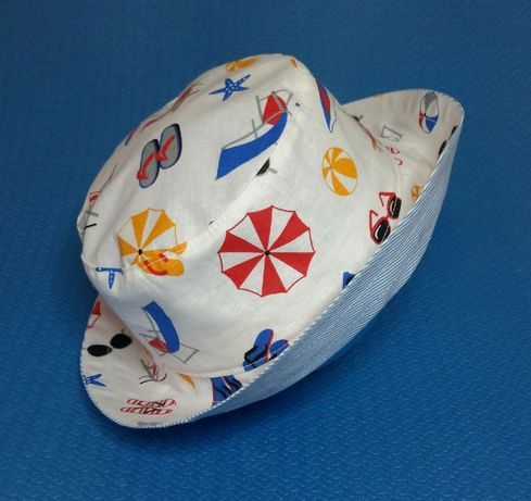 Панамка (натуральная ткань) sun hat