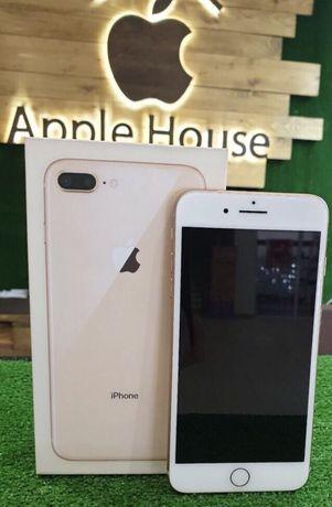 IPhone 8 Plus 64 gold Neverlock Гарантия 3 месяца Оригинал Идеал