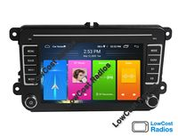 """Rádio GPS 7"""" ANDROID -VW Golf 5 e 6, VW Polo, VW Passat   Skoda   Seat"""