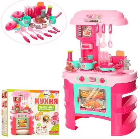 Детская Кухня Little Chef (008-908) свет/звук розово-бирюзовая