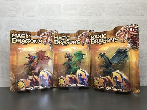 Фигурки драконов с колекцыи