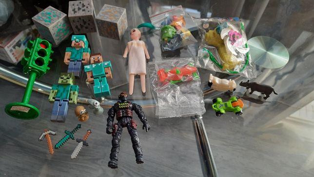 Разные детские игрушки пехотинец машинки киндер кукла