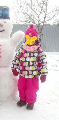 Комплект  reima tec 98 , зимний термо костюм