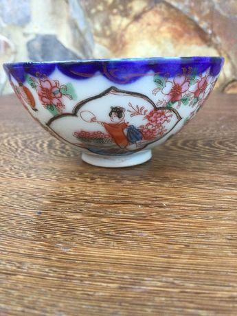 Malga em Porcelana Chinesa Qing séc XIX 8,5 cm