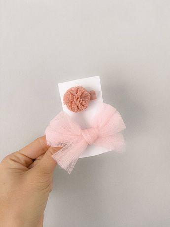 Spinka gumka handmade kokarda