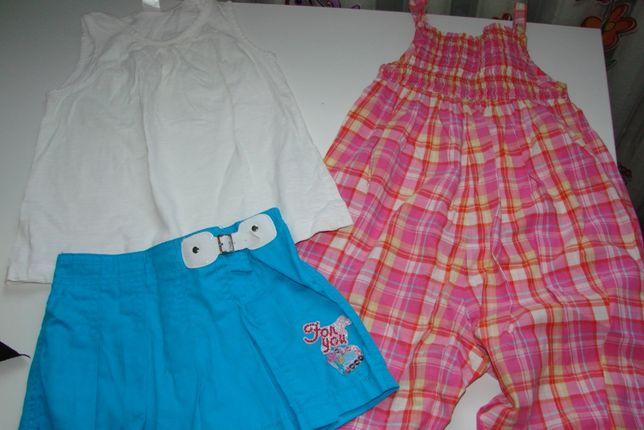 Пакет вещей для девочки на 3-4 года
