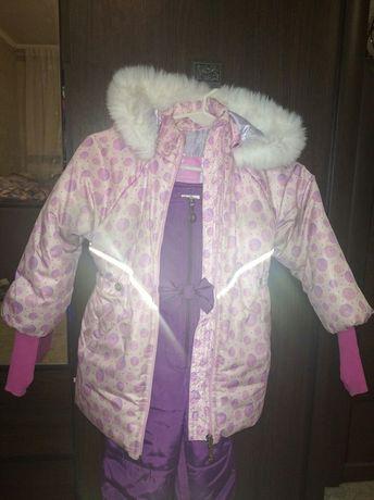 Детский зимний костюм : куртка и комбинезон
