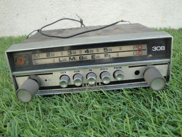 Auto rádio antigo marca RADIOLA
