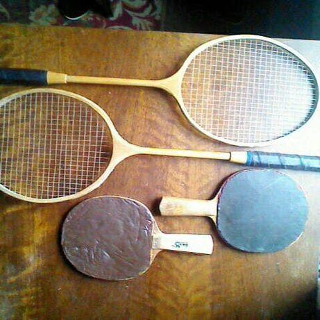 Продам ракетки для тенниса, большого тенниса и бадминтона.
